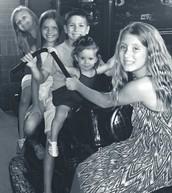 Ava, Sophia, Payton, Sloane, and Kamryn
