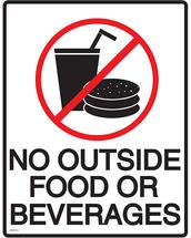 Please...no outside food!