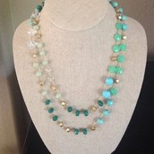Aileen Necklace - Blue