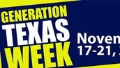 Generation TX-Wear a college T-Shirt to school day! / Dia de Camisetas Universitarias