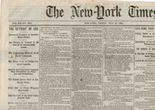 Newspaper From 1863