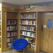 New fiction shelves - More fiction!