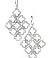 Silver Clover Earrings