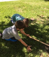 Precise measuring with a yard stick