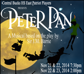 CB East Patriot Players Presents: Peter Pan