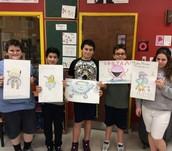 Middle School Science Art