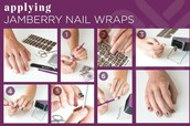 Quick look at Jamberry's easy application process