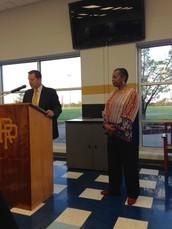 Ms. Glenda Honored