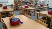 Classroom table area
