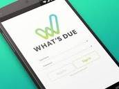 WhatsDue- An app for parents and students