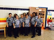 Cafeteria Staff Ready to Serve!