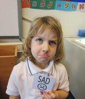 Ella (pretending to be sad, quite convincingly!)