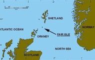 Fair Isle location