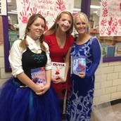 Anna, Elsa, AND Olivia!