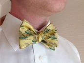 """""""Dont tread on me"""" bow tie"""