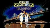 Klay Thompson and Stephen Curry aka Splash Brothers