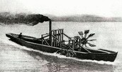 The first successful steamboat