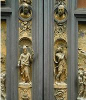 Bronze Doors    (Gates to Paradise)