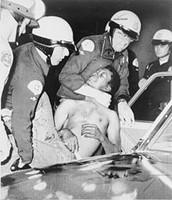 Police Arresting a Demonstrater