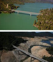 California before and after