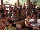 Laotian Schoolhouse