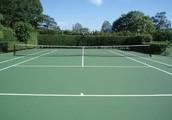 Find me at the Edinburg  Tennis Court