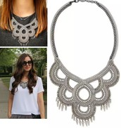 Tallulah Bib Necklace Reg $138 -50% sale $69