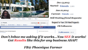 881 Business Leads in 30 Days Using Free Methods on Facebook - PROOF!!