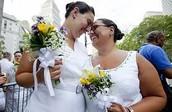 חתונה בנישואים חד מיניים אצל נשים