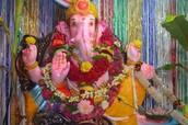 Ganesha--Aakruti's Resident God!!