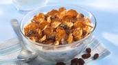 Un ejemplo nutritivo comidas es raisin bran.