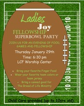 Ladies Joy Fellowship - Superbowl Party