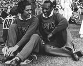 Jesse Owens and Helen Stephens Berlin Olympics 1936 (Both runners)