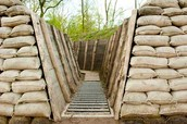present day trench