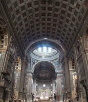 Interior of the Basilica of Sant'Andrea