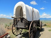 An Oregon Trail Wagon