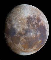 The moon Minda
