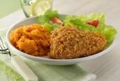 Recipe! Crunchy Oven Baked Chicken