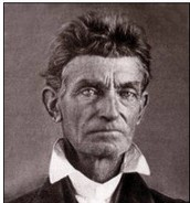 This is a picture of John Brown in 1856.