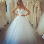 Our shop has the best wedding gowns in town!