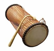 """The construction of the """"Talking drum"""""""