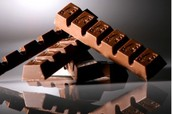 the chocolate bars