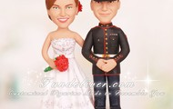 Marine Corps Corporal Cake Toppers