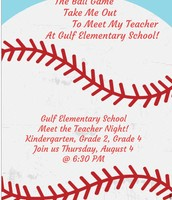 Meet the Teacher Night August 4 @ 6:30 pm!