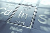 A picture of indium