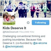 Check out:  #kidsdeserveit