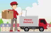 Need one volunteer to accept delivery of flowers!