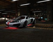 McLaren MP4-12C (BK Snowflake Edition)