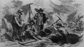 1849- California Gold rush starts
