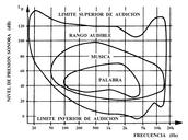 Limites de la audición sonora humanos